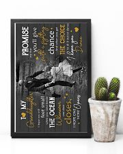 Grandpa to Granddaughter - i Hope You Dance 16x24 Poster lifestyle-poster-8