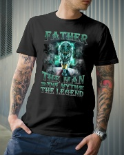 Father The man The myth The legend Classic T-Shirt lifestyle-mens-crewneck-front-6