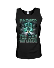 Father The man The myth The legend Unisex Tank thumbnail