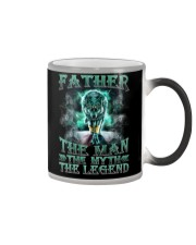 Father The man The myth The legend Color Changing Mug thumbnail