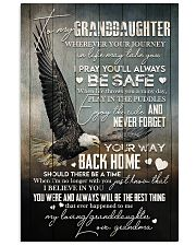 Grandma to Granddaughter - Never Forget Your Way  16x24 Poster front