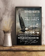 Grandma to Granddaughter - Never Forget Your Way  16x24 Poster lifestyle-poster-3