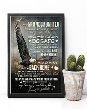 Grandma to Granddaughter - Never Forget Your Way  16x24 Poster lifestyle-poster-8