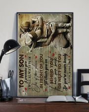 To Son - I Promise You I will Always - Poster 16x24 Poster lifestyle-poster-2