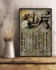 To Son - I Promise You I will Always - Poster 16x24 Poster lifestyle-poster-3