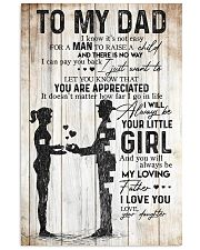 DAUGHTER TO DAD 16x24 Poster front