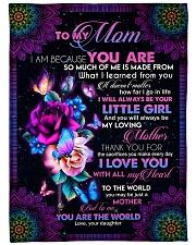 "To My Mom - Fleece Blanket Large Fleece Blanket - 60"" x 80"" front"
