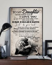 To Daughter - Life Is Filled With Hard Times 16x24 Poster lifestyle-poster-2