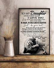 To Daughter - Life Is Filled With Hard Times 16x24 Poster lifestyle-poster-3