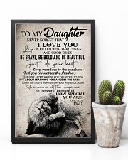 To Daughter - Life Is Filled With Hard Times 16x24 Poster lifestyle-poster-8