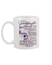 NANA TO GRANDDAUGHTER Mug back