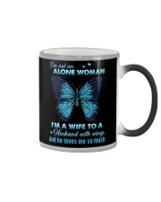 MY ANGEL HUSBAND - BUTTERFLY - MISS YOU Color Changing Mug thumbnail