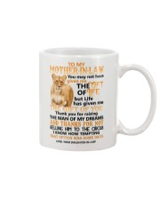 TO MY MOTHER-IN-LAW - LIONESS - CIRCUS Mug front
