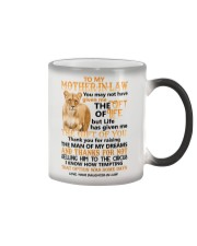 TO MY MOTHER-IN-LAW - LIONESS - CIRCUS Color Changing Mug thumbnail