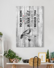 Mom To Son - Canvan 20x30 Gallery Wrapped Canvas Prints aos-canvas-pgw-20x30-lifestyle-front-03
