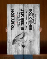 Mom To Son - Canvan 20x30 Gallery Wrapped Canvas Prints aos-canvas-pgw-20x30-lifestyle-front-22