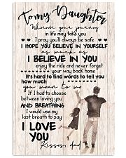 TO DAUGHTER - PLAYING - WHEREVER 16x24 Poster front