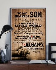 TO MY DEAREST SON 16x24 Poster lifestyle-poster-2