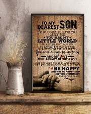 TO MY DEAREST SON 16x24 Poster lifestyle-poster-3