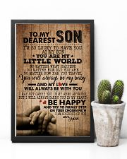 TO MY DEAREST SON 16x24 Poster lifestyle-poster-8