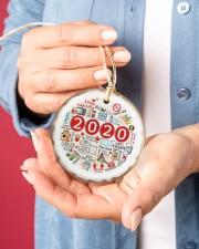 Christmas - 2020  Circle ornament - single (porcelain) aos-circle-ornament-single-porcelain-lifestyles-01