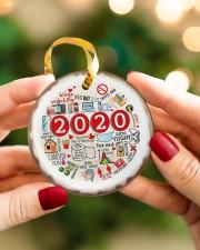 Christmas - 2020  Circle ornament - single (porcelain) aos-circle-ornament-single-porcelain-lifestyles-08