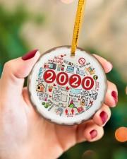 Christmas - 2020  Circle ornament - single (porcelain) aos-circle-ornament-single-porcelain-lifestyles-09