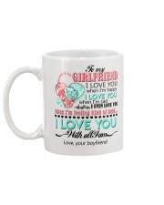 TO MY GIRLFRIEND Mug back