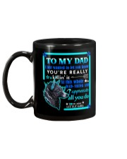 MUG - TO MY DAD - WOLF Mug back