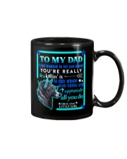 MUG - TO MY DAD - WOLF Mug front