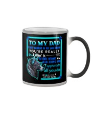 MUG - TO MY DAD - WOLF Color Changing Mug thumbnail