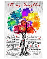 Mom To Daughter Tree - Fall All The Things My  16x24 Poster front
