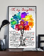 Mom To Daughter Tree - Fall All The Things My  16x24 Poster lifestyle-poster-2