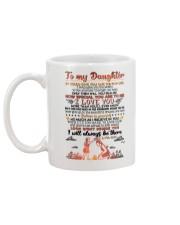 TO DAUGHTER - HUG - BE THERE Mug back