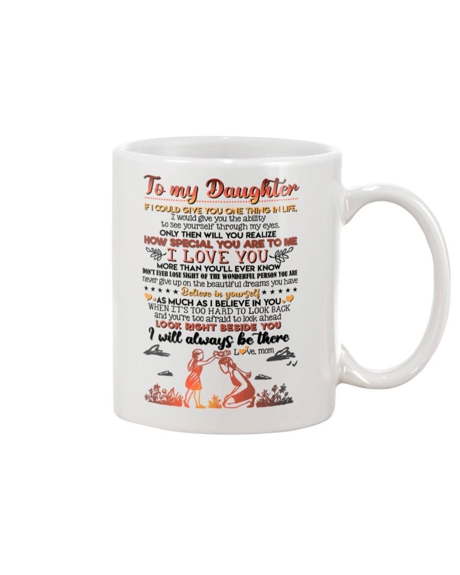 TO DAUGHTER - HUG - BE THERE Mug