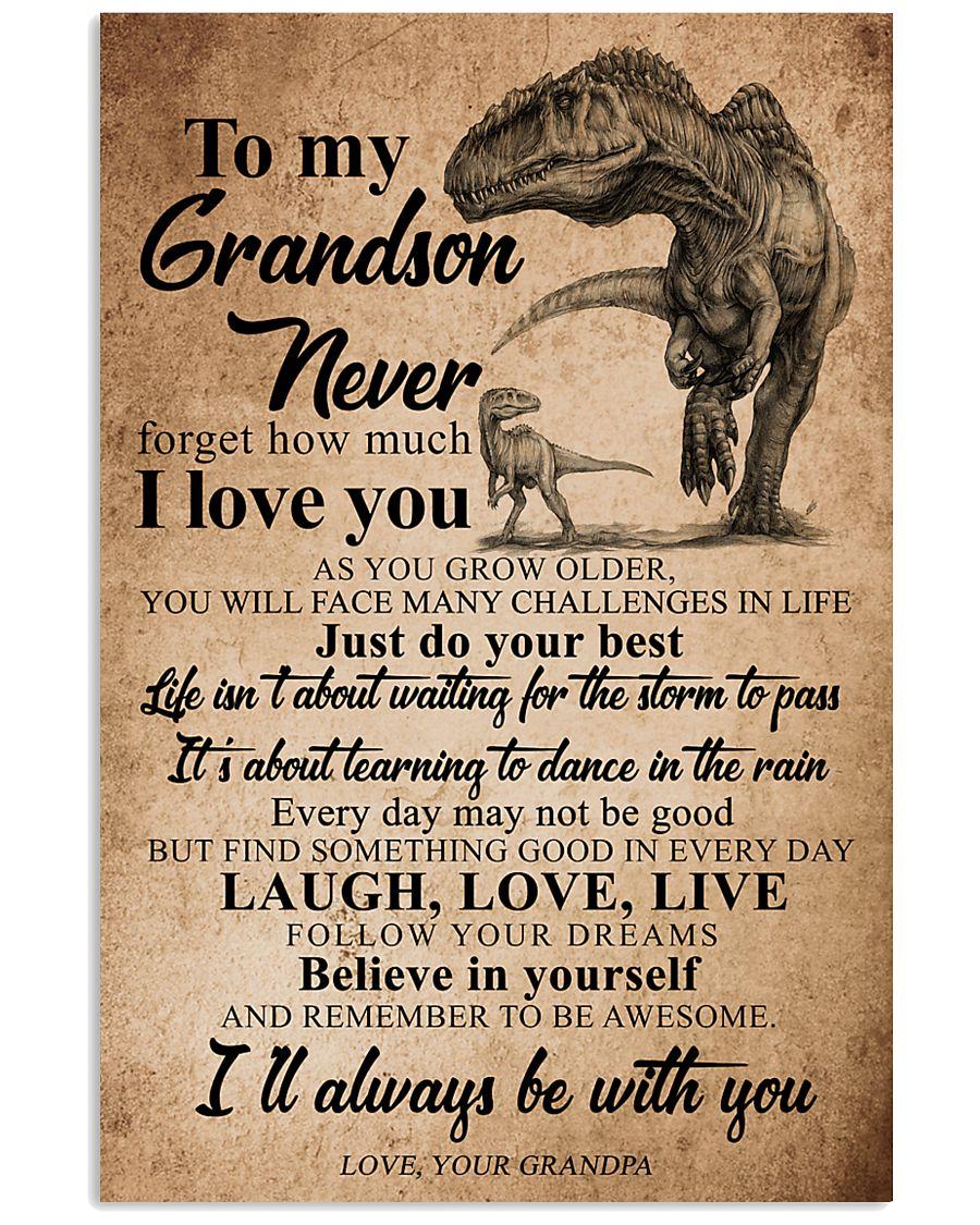 GRANDPA TO GRANDSON  16x24 Poster