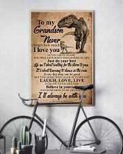 GRANDPA TO GRANDSON  16x24 Poster lifestyle-poster-7