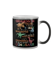 GRANDSON - DINOS - FAVORITE Color Changing Mug thumbnail