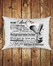 TO MY GIRLFRIEND Rectangular Pillowcase aos-pillow-rectangle-front-lifestyle-2
