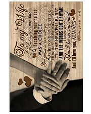 To My Wife - Meeting You Was Fate - Canvas 16x24 Poster front