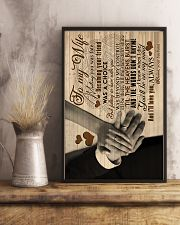 To My Wife - Meeting You Was Fate - Canvas 16x24 Poster lifestyle-poster-3