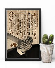 To My Wife - Meeting You Was Fate - Canvas 16x24 Poster lifestyle-poster-8