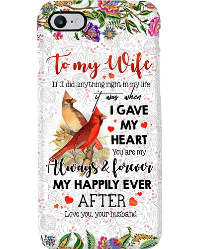 TO MY WIFE - CARDINAL - LOVE YOU