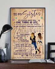 TO MY SISTER 16x24 Poster lifestyle-poster-2