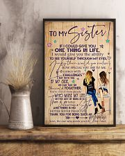 TO MY SISTER 16x24 Poster lifestyle-poster-3