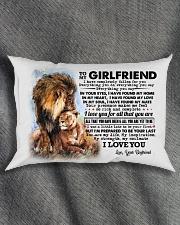 TO MY GIRLFRIEND Rectangular Pillowcase aos-pillow-rectangle-front-lifestyle-1