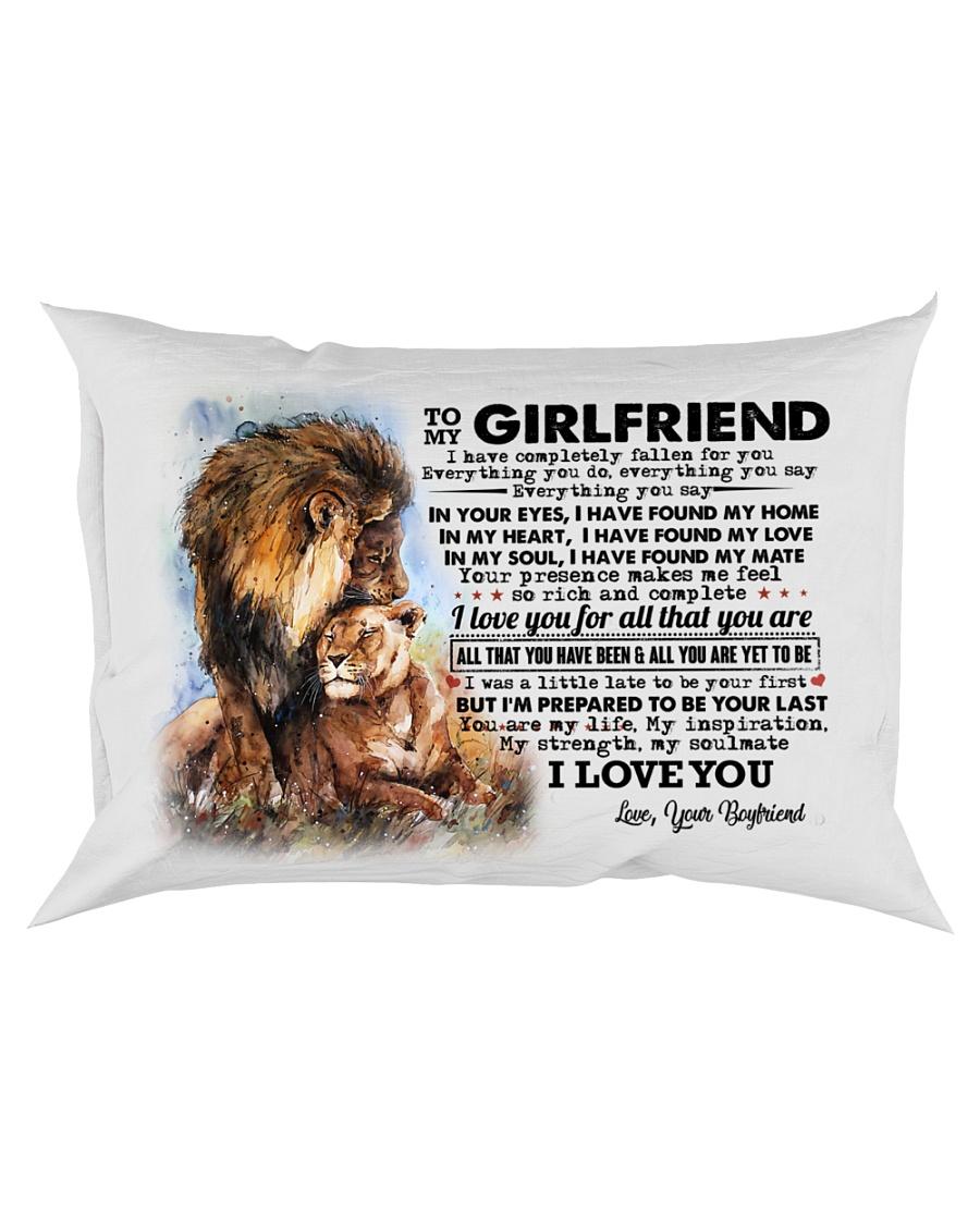 TO MY GIRLFRIEND Rectangular Pillowcase