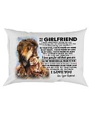 TO MY GIRLFRIEND Rectangular Pillowcase front
