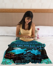"""To My Daughter-in-law - Turtle - Gift Of Life  Small Fleece Blanket - 30"""" x 40"""" aos-coral-fleece-blanket-30x40-lifestyle-front-12"""