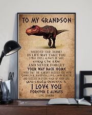 TO MY GRANDSON - T REX - ALMIGHTY 16x24 Poster lifestyle-poster-2